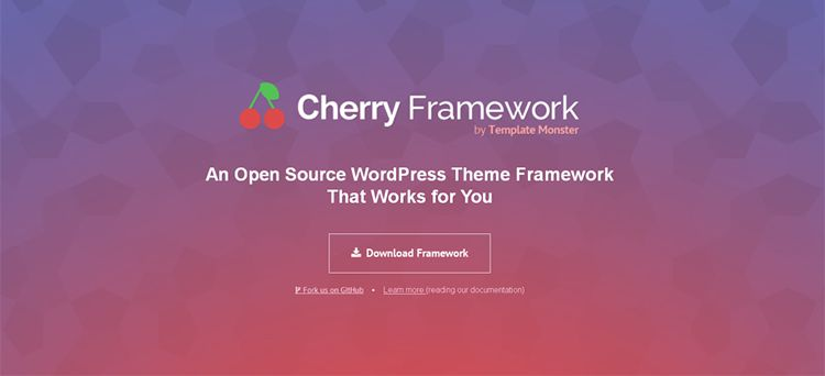cherry free wordpress framework