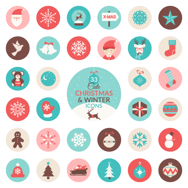 christmas winter free freebie ai svg png icon Set Preview screenshot