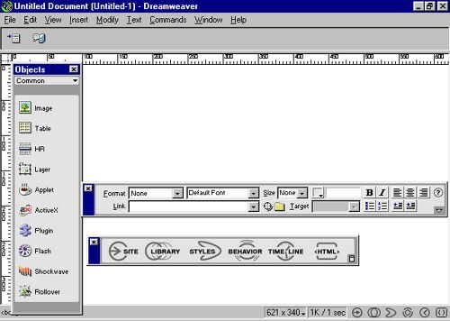 Macromedia released Dreamweaver in 1997