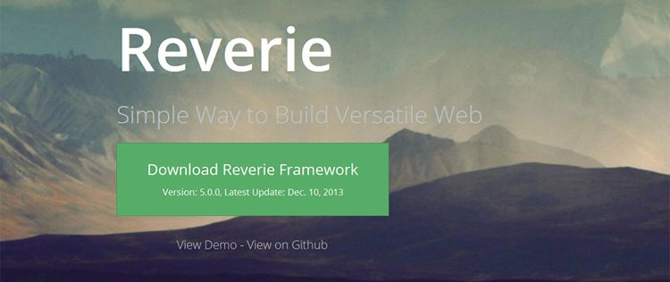 reverie free wordpress framework