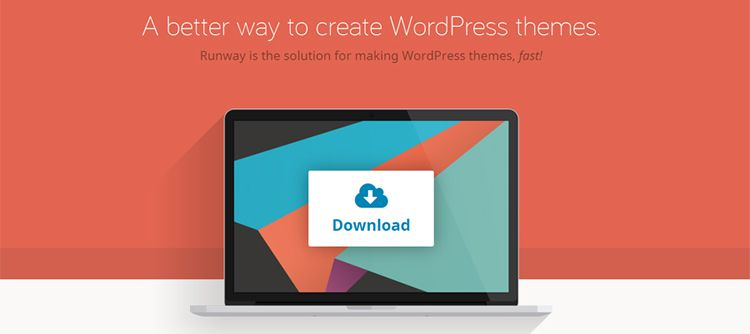 runway free wordpress framework