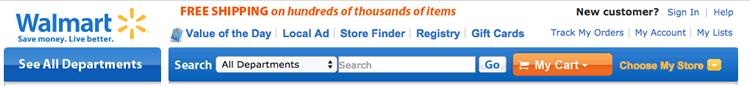 Walmart.com Search 2012