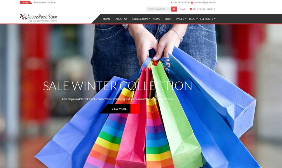 AccessPress Store Free WooCommerce Theme