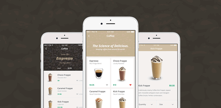 Top Free Mobile UI Kits For IOS Android - Mobile app design templates