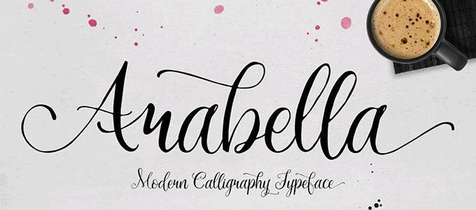 20 Beautiful Free Hand Drawn Fonts
