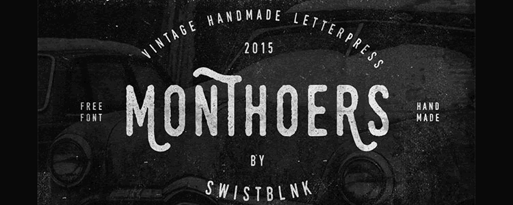 Monthoers Font Family