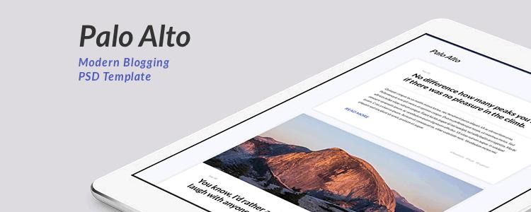 Palo Alto Blogging Template