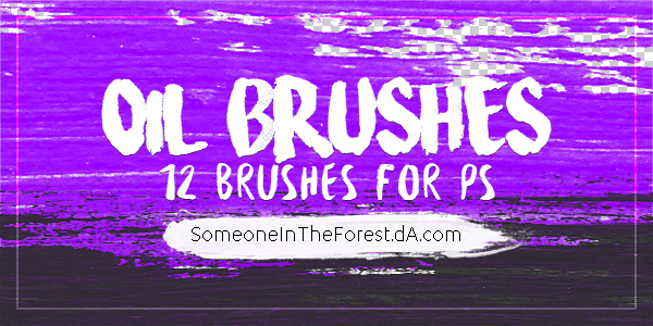 Oil Photoshop Brushes