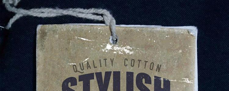 Vintage Clothing Label Mockup