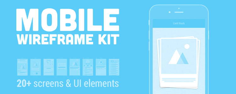 Mobile Wireframe Kit