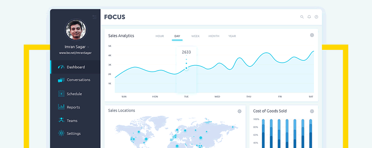 Focus Dashboard Template