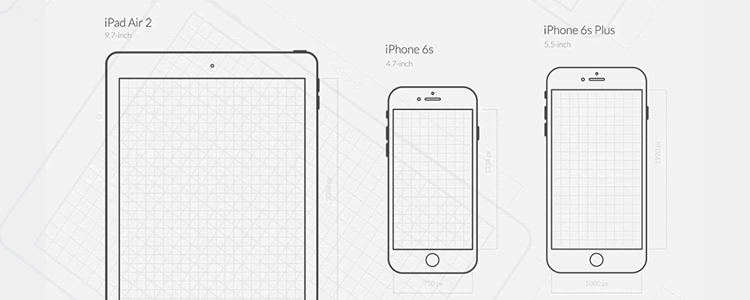 iOS Wireframe & Icons UX Set