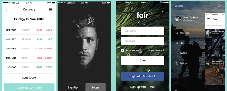 Fair Mobile UI Kit