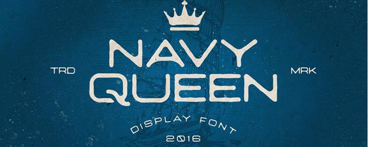 NavyQueen Font