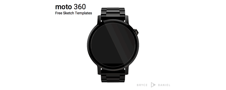 Moto 360 Template