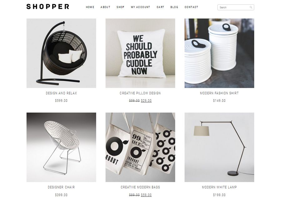 Shopper Free WooCommerce Theme