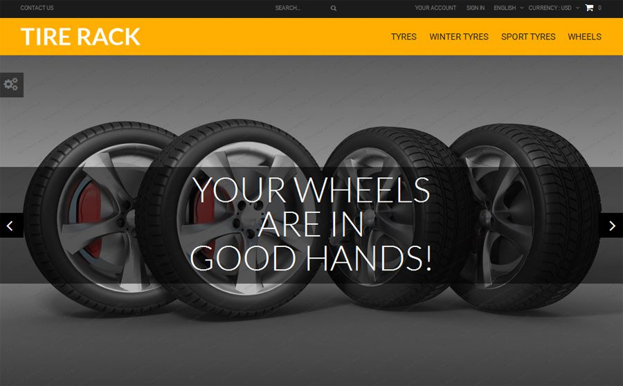 Tire Rack PrestaShop Theme