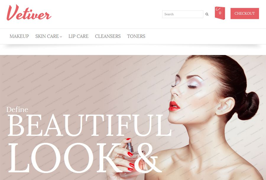 Vetiver Free OpenCart Template
