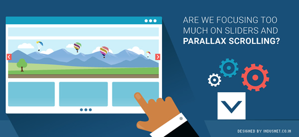 Web Design Are We Focusing Too Much on Sliders and Parallax-Scrolling