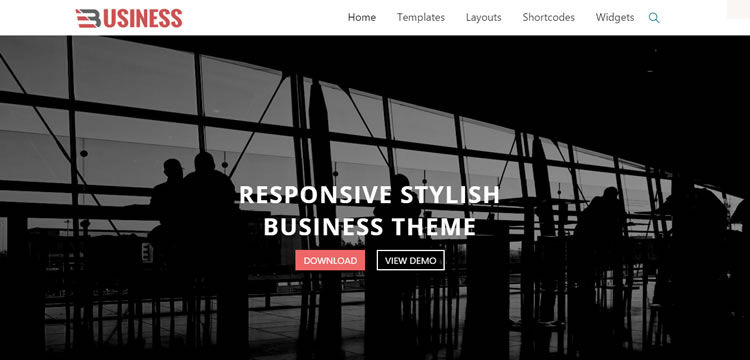Business World free wordpress theme business small corporate