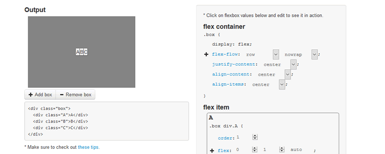 CSS Flexbox Please