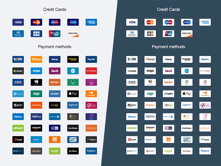 Ultimate Payment Icon Set Gregoire Segretain sketch app