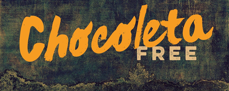 Chocoleta Free Brush Font