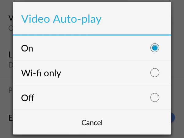 sound video autoplay disable