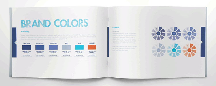 Brandbooks Free Brand Guidelines Template ai indesign