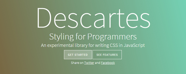 Descartes Styling for Programmers
