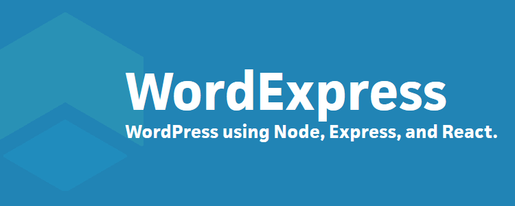 Wordexpress WordPress project Javascript instead PHP