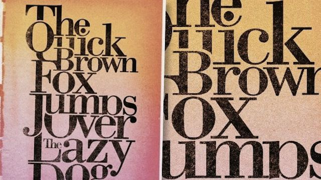 Classic Serif Poster Photoshop tutorial for graphic designers