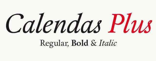 calendas plus classy free font display headline logo