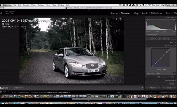 Creative Colour Adjustments in Lightroom with Curves