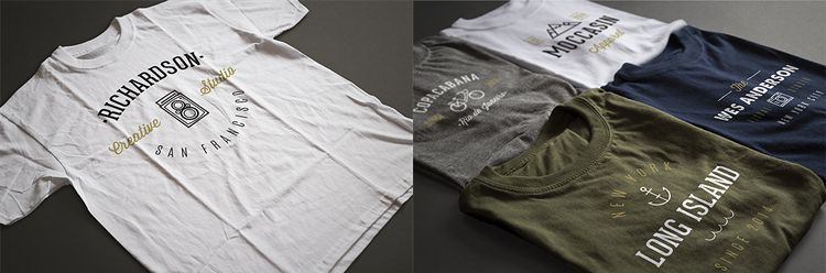 photorealistic t shirt mockups photoshop psd designed by antonio padilla