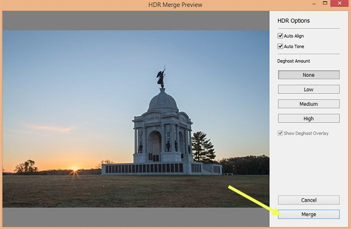 Step by Step: HDR Merge in Lightroom