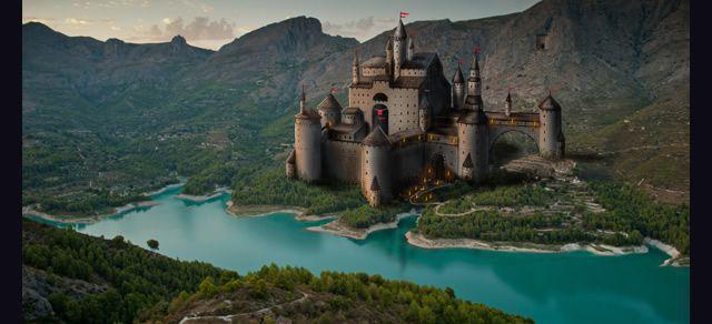 Paint Castle Photoshop Photoshop Tutorial