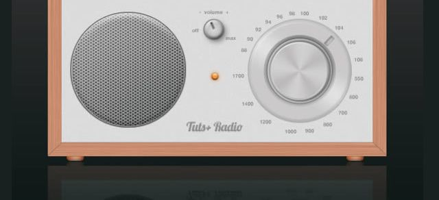 Cool Radio Icon Photoshop Tutorial