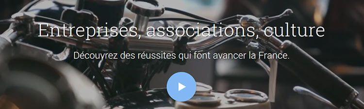 Google Moteur de Réussites Françaises