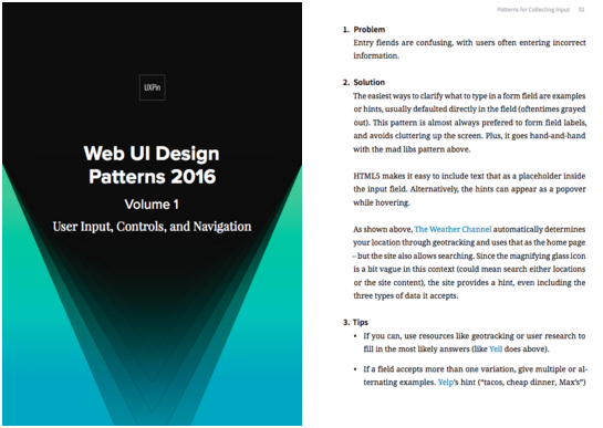 web ui design patterns ebook 2016
