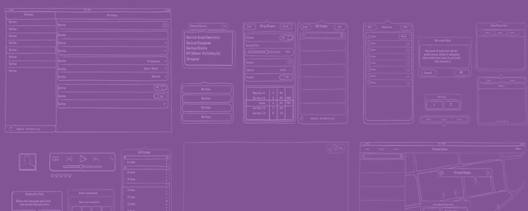 Freebie Sketch UI Kit Mobile Web