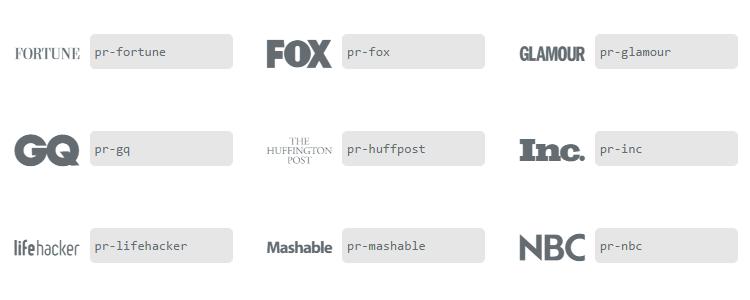 Freebie Font Famous vector logo font press