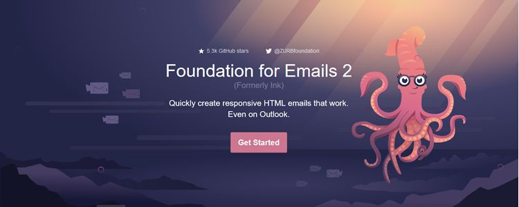Foundation for Emails 2 was released last week
