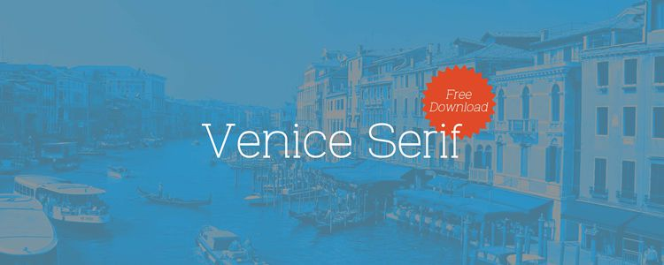 free Venice Serif Font