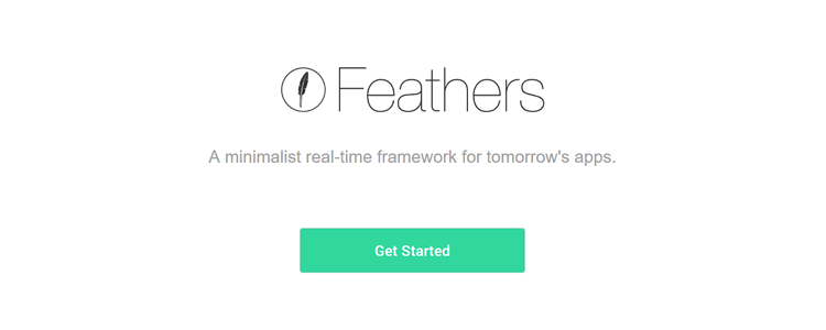feathersjs minimalist real-time JavaScript framework