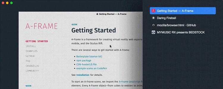 browserhtml An experimental Servo browser built in HTML
