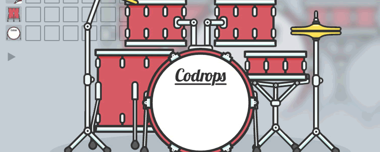 How to Create an Interactive Animated SVG Drum Kit