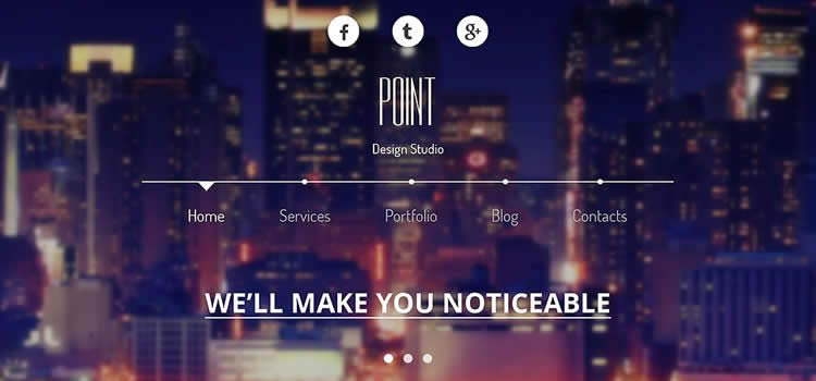 Design Agency creative hero clean parallax effect google maps html5 template website responsive