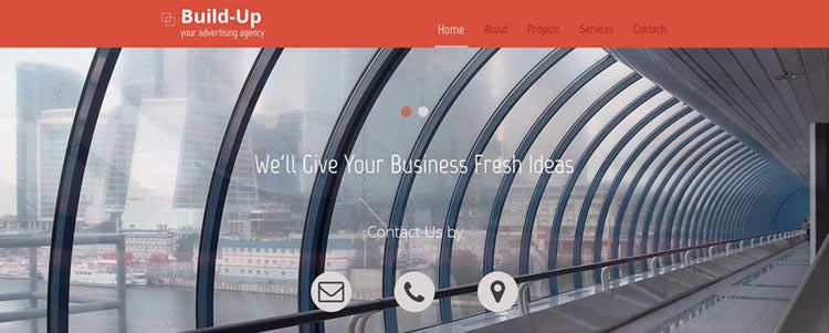 Corporate full-width slider fixed mega-menu parallax hover lazy-load html5 template website responsive