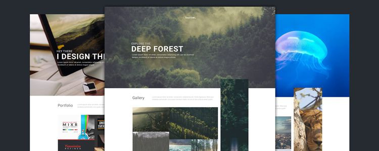 Webby Multi-Purpose Web Template Photoshop